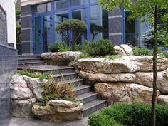 ART Stepanov Pond Bridge, Living Pool, Artificial Rocks, Fake Rock, Front Walkway, Pool Waterfall, Concrete Furniture, Rock Decor, Aquarium