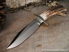 custom knives | ... Knives - Supreme Stag - Fort Henry Custom KnivesFort Henry Custom