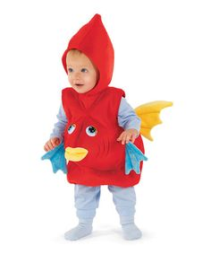 Take a look at this Red Fish Dress-Up Outfit - Infant by Happy Hauntings Collection on #zulily today!