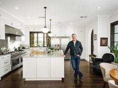 Chef and restauratuer Tim Love shows Food Network Magazine around his Fort Worth, TX kitchen.