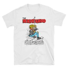Official The Neighbourhood merchGet your official The Neighbourhood t-shirt today! The Neighbourhood Merch, Chain Reaction, Unisex, Tees, Mens Tops, T Shirt, Stuff To Buy, Style, Illustration Art