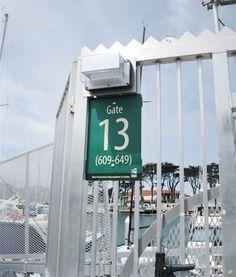 SF Rec & Parks Wayfinding Signage, Parks, Type, Parkas