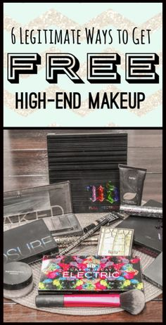 Who doesn't want free high-end makeup? Here are 6 tried and true methods you can use to get your own free makeup. The first thing you should do is...