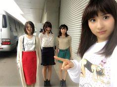 Anna Ijiri x Emika Kamieda x Konomi Kusaka x Momoka Hayashi  https://twitter.com/moka9_11/status/782073823411642369