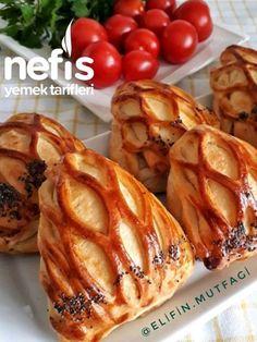 Triangular Lattice Pastry (with video) - Yummy Recipes Donut Recipes, Tart Recipes, Healthy Recipes, Pastry Recipes, Yummy Recipes, Turkish Recipes, Ethnic Recipes, Turkish Kitchen, Savory Pastry