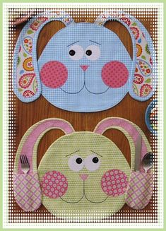 Love This : All Ears placemats sewing pattern by Susie C. Shore Designs