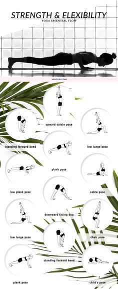 Strengthen your body, improve your flexibility and boost your energy with this 12 minute yoga essential flow. These bodyweight-bearing poses will help you keep your body youthful, build strong, flexible muscles and clear your mind. http://www.spotebi.com/yoga-sequences/strength-flexibility/