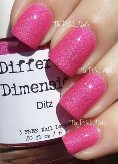 Different Dimension - Ditz, swatched on stick 100:-