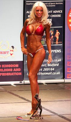 Now that Jodie Marsh looks avery fine swan indeed, anotherdemure flower inEmma B has stepped into the body building limelight hoping to turn herself into a polished crown jewel, just like Jodie.