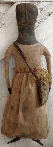 Epattern Mrs. Blanchard Doll by Walnut Ridge by wrprimitives, $10.00