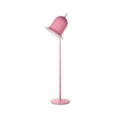 """The designer asks, """"Who is afraid of pink? My imagination chases female archetypes intentionally. Frivolous, even naive objects are my favorite victims. Pure Meaning, Archetype Examples, Brand Archetypes, Timeless Elegance, Lamp Design, Floor Lamp, Objects, Pure Products, Lights"""