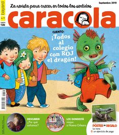 Caracola 337 Sam Sam, Comic Books, Education, Comics, Cover, Fictional Characters, French, Easy, September