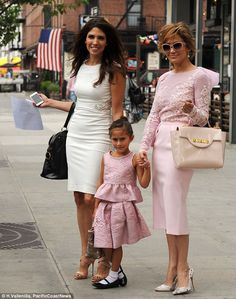 JLo, her Sister and her daughter | Family Time