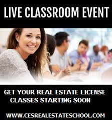 Get your real estate License in 54 days. Become a real estate agent.Live class held 8 weeks. Class meets every Saturday from 9am-12pm....Complete required 135