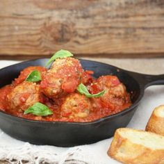 Ricotta Meatballs with Chianti Sauce + a Giveaway!