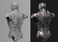 Iron Man Mark III - 3DTotal Forums