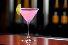 Sex in the city coctail! 1 oz. Don Julio Blanco Tequila ½ oz. Passion Fruit Liqueur ½ oz. Simple Syrup ½ oz. Fresh Lime Juice Add all ingredients to mixing tin. Shake vigorously. Pour into a martini glass that has a hot pink sugar rim. Taste for balance and garnish with a lime wedge.