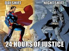 And if you notice night shift does it with NO super natural powers. Wit and intelligence only!