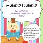 A printable nursery rhyme mini-packet for Humpty Dumpty.   Included: Directions Classroom poster or printable page for poetry folder Illustrate and...