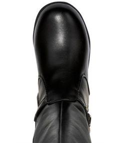 Tommy Hilfiger Andrea Stretch Boots, Little Girls (11-3) & Big Girls (3.5-7) - Black 11