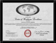 IBMS Certified Center of Healthcare Excellence - Ruby Certification!