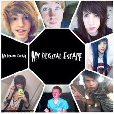 My Digital Escape. YouTube. Kyle David Hall, Austin Jones, Jordan Sweeto, Alex Dorame, Alex Ramos, Bryan Stars, and Johnnie Guilbert
