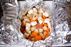 Campfire Foil Packets | Awesome Vegan Camping Dinner » Whole Food Mom