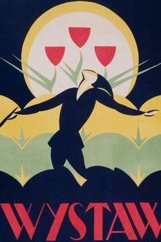 Art Deco poster, Museum of Krakow