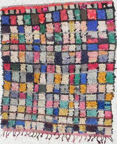 vintage moroccan rag rug - i've been looking for these EVERYWHERE!