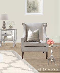 Blog — Peaceful Home Decor, LLC E Design, Interior Design, Peaceful Home, Wingback Chair, Accent Chairs, 3d, Blog, Furniture, Home Decor