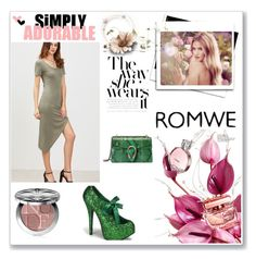 """""""ROMWE contest"""" by karanfil-1 ❤ liked on Polyvore featuring Funtasma, Gucci, Whiteley and Christian Dior"""