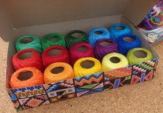 Kit de Linhas para Crochê - 15 cores