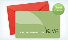 This is a wonderful organization and a great #gift idea //Groupon - Kiva – Two $ 25Credits to Fund Microloans ($50 Value) in Online Deal. Groupon deal price: $25