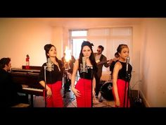 Burn - Vintage '60s Girl Group Ellie Goulding Cover with Flame-O-Phone - YouTube