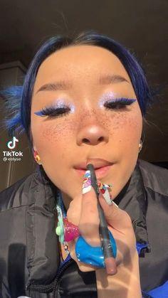 Cute Clown Makeup, Cute Girl Photo, Songs To Sing, Makeup Designs, Tik Tok, Cute Girls, Makeup Looks, Nails, Face