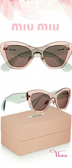 b3b6e194804f Miu Miu ○ cat eye sunglasses  MiuMiu