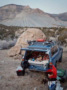 Utah Camp - 1988 Land Cruiser @scottchanning