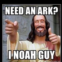 Religious humor... Ha!