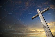 Wooden cross illuminated by Javier Art Photography on @creativemarket