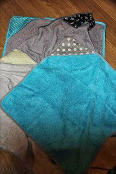 Tutoriel de cape de bain : un super cadeau de naissance pour le petit Guilhem, nouveau venu dans la famille ♡