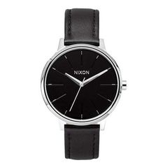 Nixon: The Kensington Leather black $100