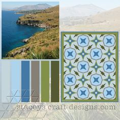 Colour Palette Zingaro Reserve by Stacey's Craft Designs Design Crafts, Palette, Quilt, Colour, Create, Outdoor Decor, Home Decor, Palette Table, Quilt Cover