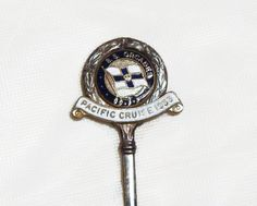 Souvenir Teaspoon 1953 Pacific Cruise S.S. by SuesUpcyclednVintage,