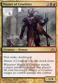 Master of Cruelties from Dragon's Maze at TCGplayer.com as low as $2.57