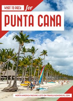 Want to know what to pack for Punta Cana? Read our packing list for the Dominican Republic to prepare for your tropical adventure! | Travel Fashion Girl