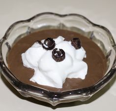So Good So Easy: Chocolate Vita-Mix Pudding