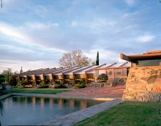 Frank Lloyd Wright's Taliesen West in Scottsdale. An artist who built his artistic vision. Stunning to see this in person.