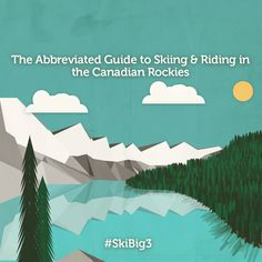 Guide to Skiing & Riding the Rockies Sunshine Village, Ski Resorts, Canadian Rockies, Skiing, Movie Posters, Image, Ski, Film Poster, Popcorn Posters