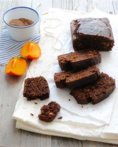 Persimmons and Chocolate Bread from Al Dente Gourmet