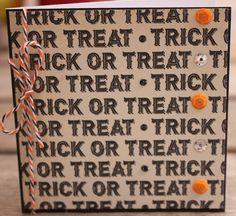 Halloween Mini Notecards, Trick or Treat Mini Notecards, Black Cat Mini Notecard by 19Designs on Etsy
